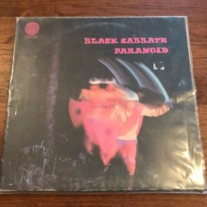Black Sabbath paranoid record